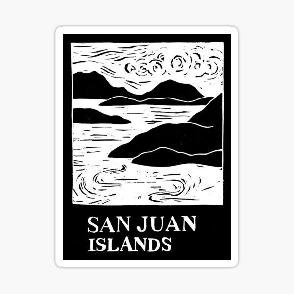 San Juan Islands Washington USA Sticker