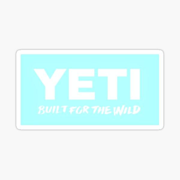 Mint Yeti Logo Sticker