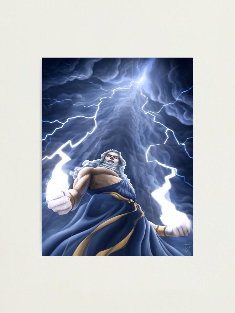 Vista alternativa de Lámina fotográfica Zeus Unlimited