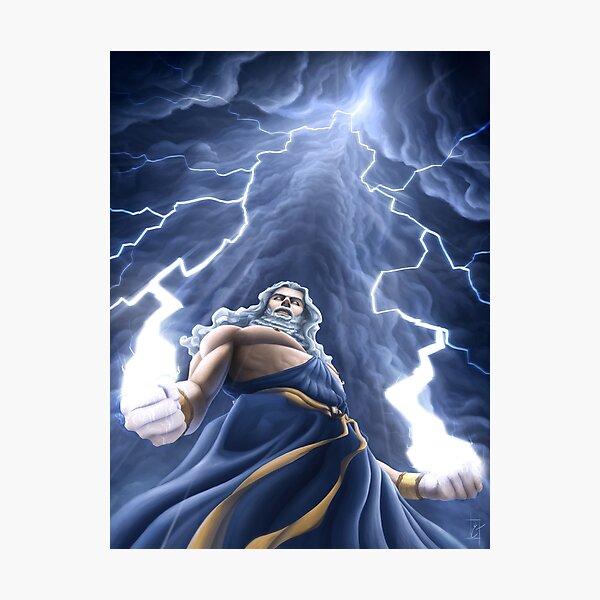 Zeus Unlimited Photographic Print