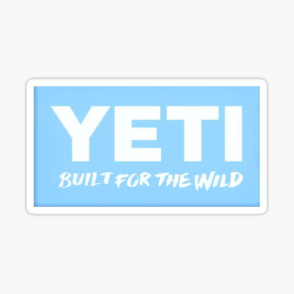 Blue Yeti Logo Sticker