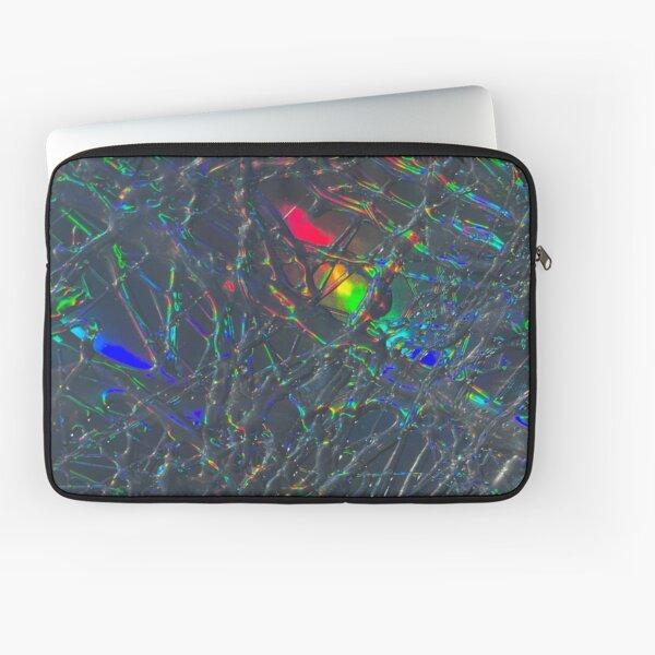 Holographic Web Laptop Sleeve