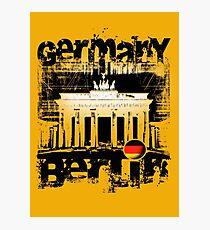 EURO BERLIN Photographic Print