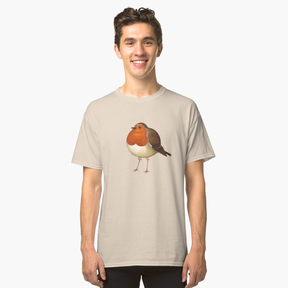 Chubby Erithacus Classic T-Shirt Front