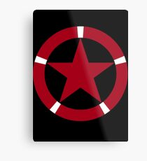Roundel of the Albanian Air Force Metal Print