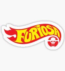 Hot Furiosa Sticker