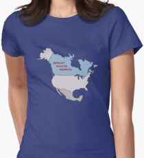 Great White North Women's Fitted T-Shirt