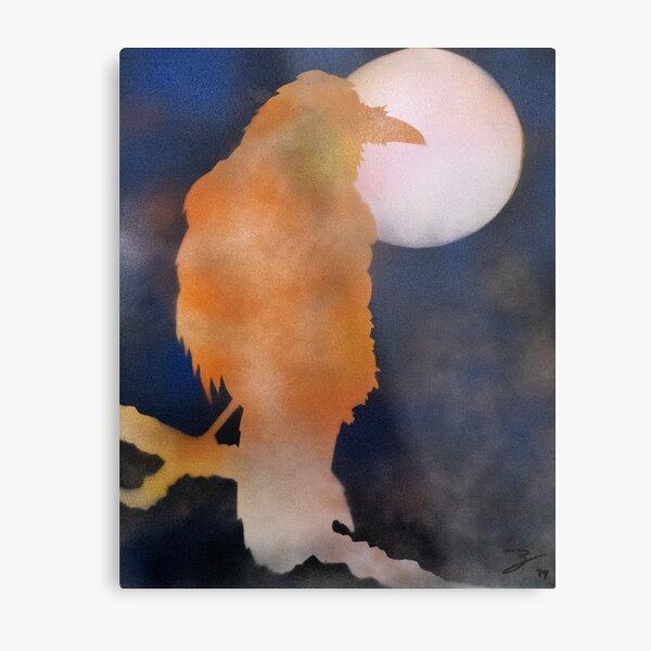 Joshua Tree Raven Metal Print