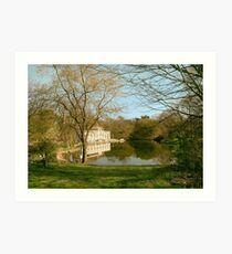 Prospect Park Boathouse Art Print