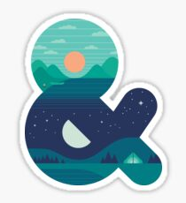 Day & Night Sticker