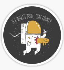 Space Sucks Sticker