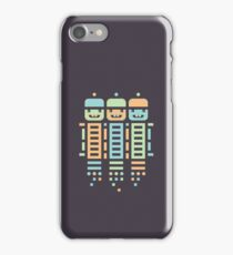 Acorn Rocket Bots Multi iPhone Case/Skin