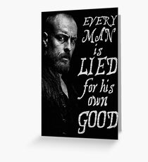 Black Sails - Every Man is Lied... Greeting Card