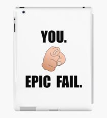 Epic Fail iPad Case/Skin