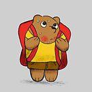 School Bear by slugspoon