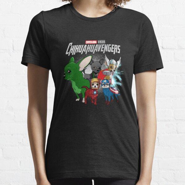 Chihuahua Avengers Chihuahuaavengers dog superhero  Essential T-Shirt