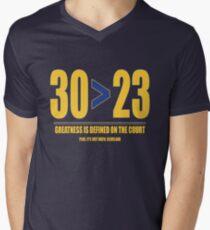 30 > 23 | Curry > James T-Shirt