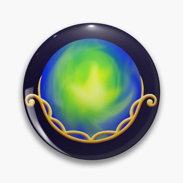 Cradled Globes - Terra Gold Pin