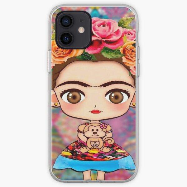 Frida Kahlo Funda blanda para iPhone