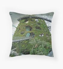 Cloud Forest   Singapore Indoor Forest   Cloud Mountain Throw Pillow Home Design Ideas