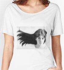 Françoise (Francoise) Hardy - History's Most Fashionable Face Women's Relaxed Fit T-Shirt