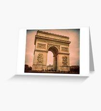 Arc de Triomphe Paris Greeting Card