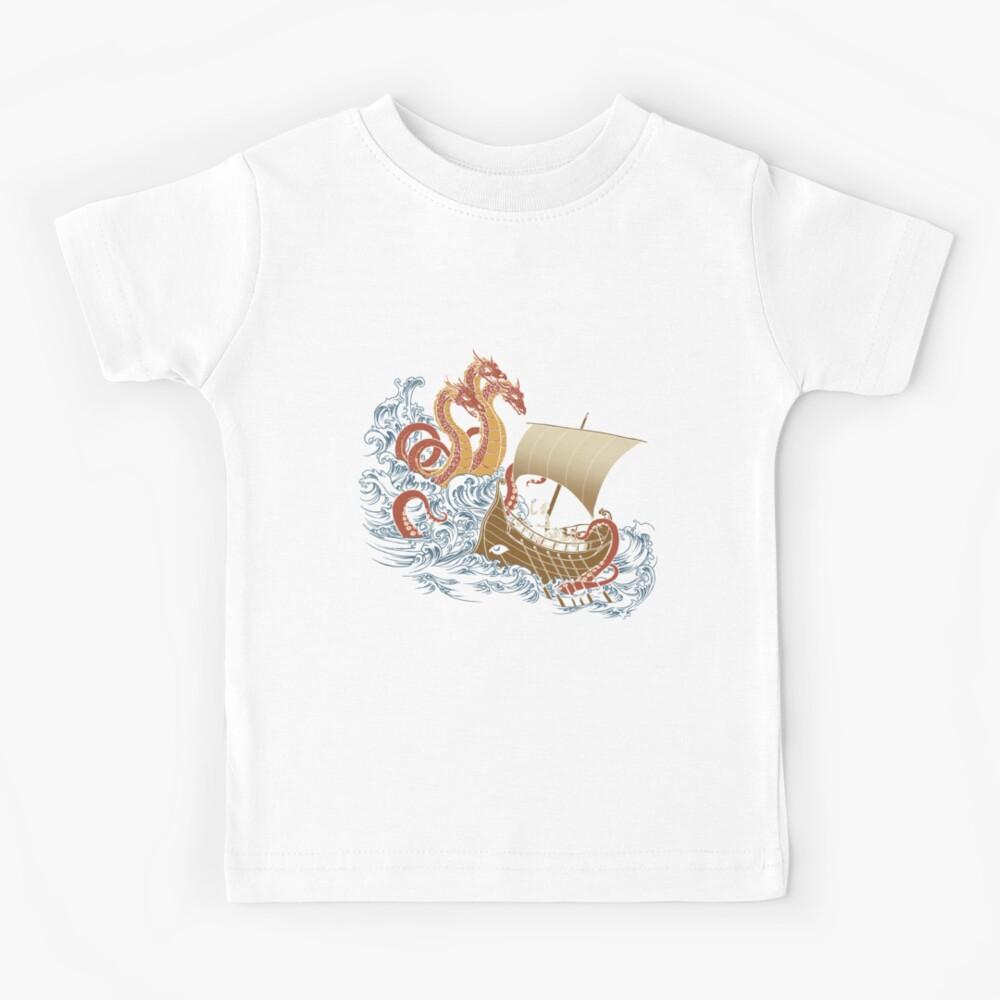 El sistema de posicionamiento griego de Odysseus v1.0 Camiseta para niños