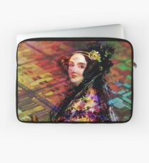 Ada Lovelace - Rainbow of Microchips Laptop Sleeve