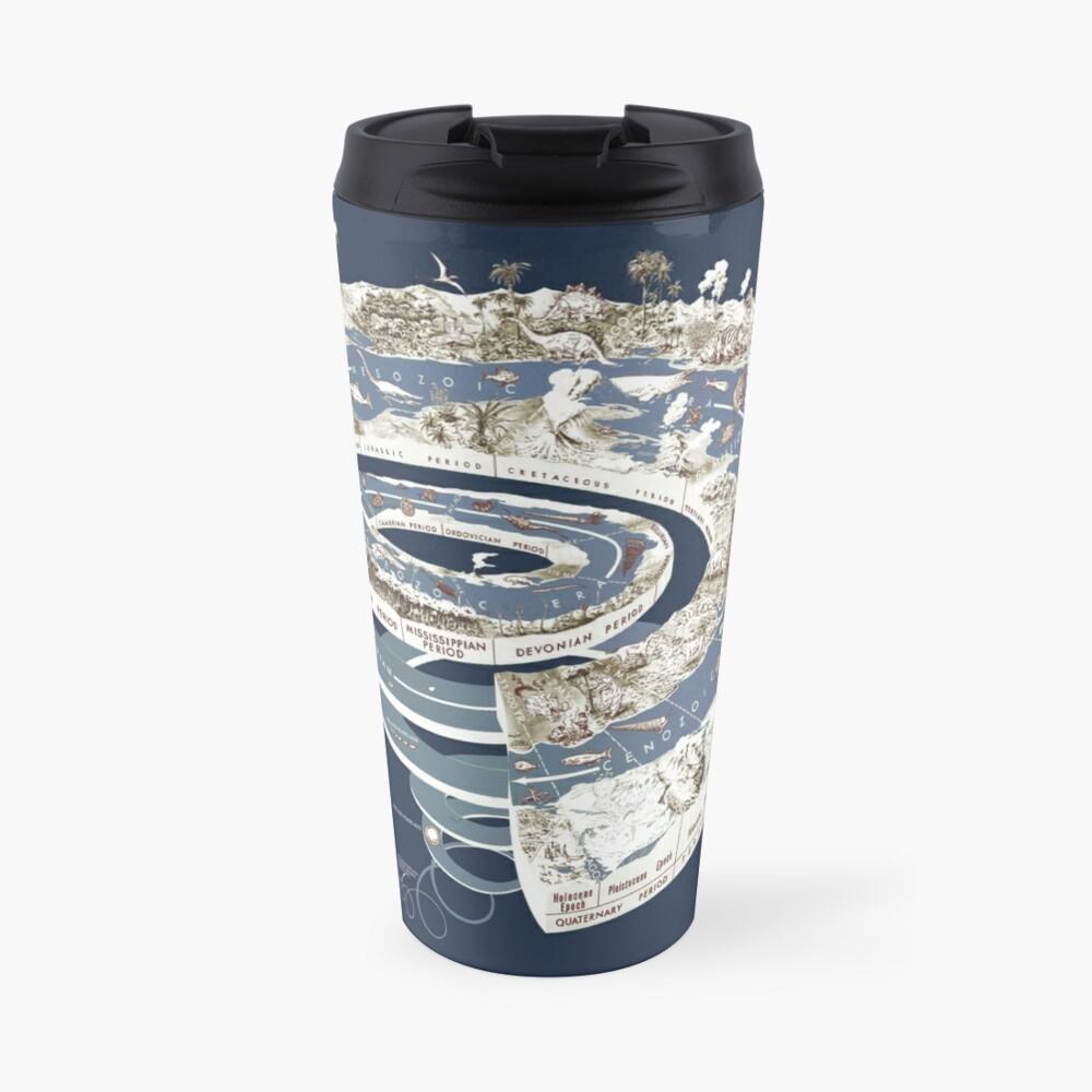 Geologic Period Timeline Travel Mug