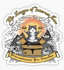The League of Internet Cats Sticker