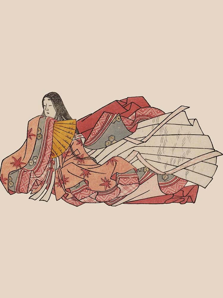 Murasaki Shikibu - author of The Tale of Genji by UnitShifter