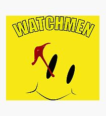 Watch Comedian pin Photographic Print