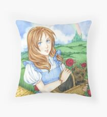 Dorothy and Toto Wizard of Oz  Throw Pillow