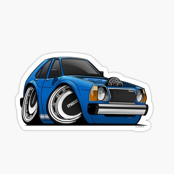 Mazda 323 Hatch Sticker