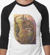 Terror of the Plains Men's Baseball ¾ T-Shirt