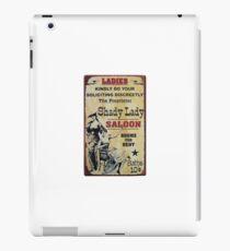 Shady Lady Saloon iPad Case/Skin