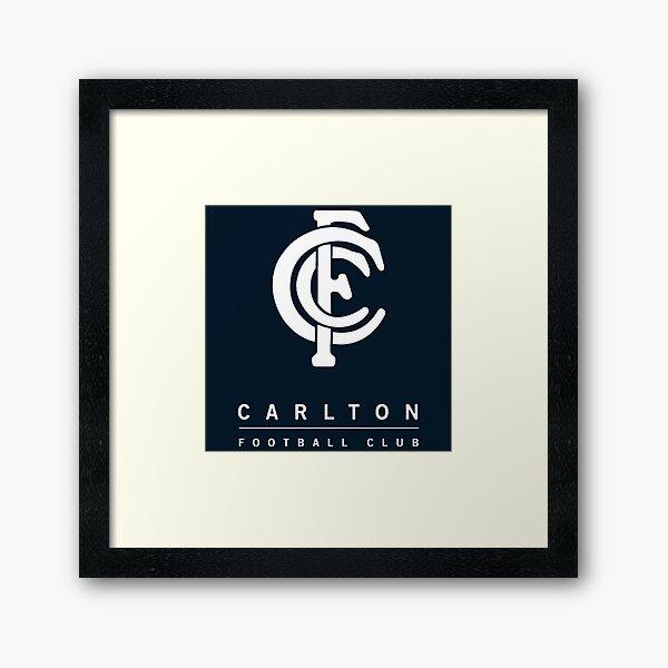 The Blues Football Carlton Champion Framed Art Print