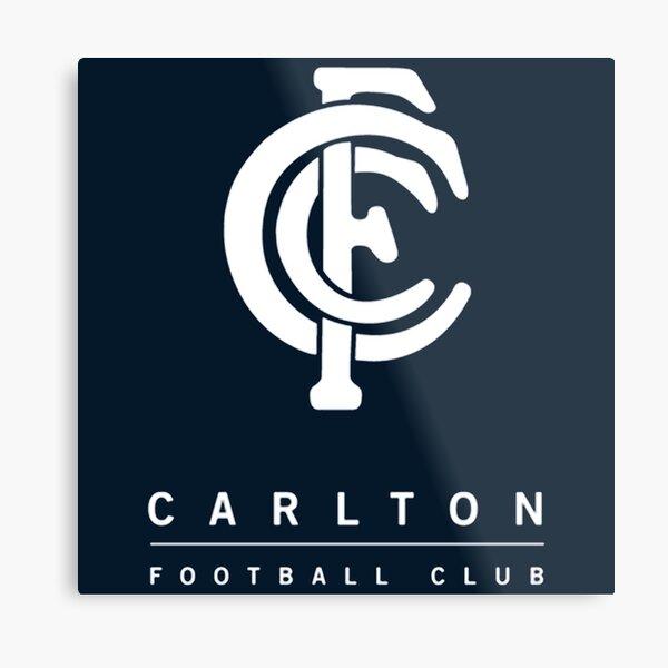 The Blues Football Carlton Champion Metal Print