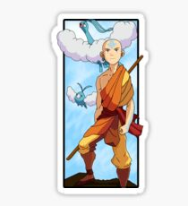 Aang and Altaria - Pokemon and Airbender Sticker