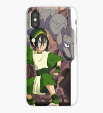 Toph and Onix - Pokemon and Earthbender iPhone Case/Skin