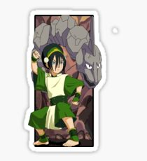 Toph and Onix - Pokemon and Earthbender Sticker