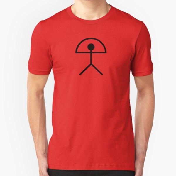 Indalo (Rainbow Man)  Slim Fit T-Shirt