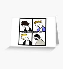 te ninten sinty fev - bexis Greeting Card