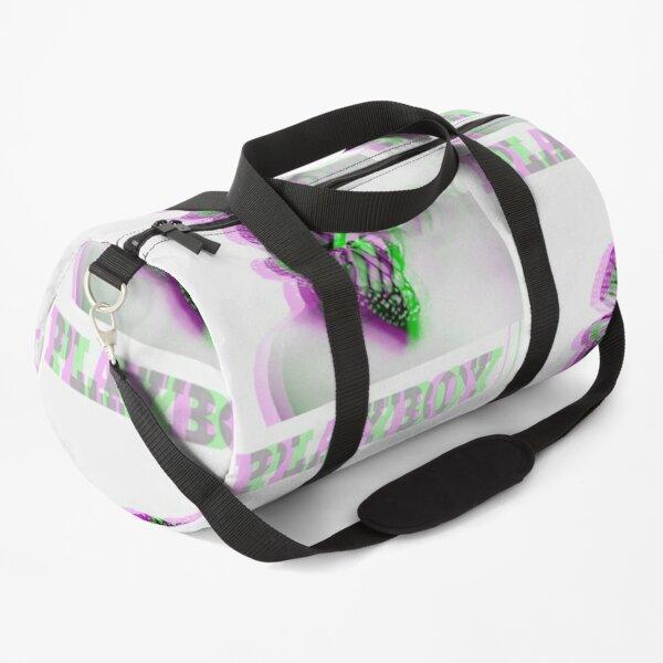Glitchy trippy playboy edit Duffle Bag
