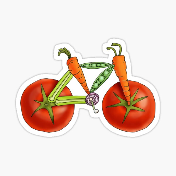 Vegetabike Sticker