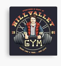 Hill Valley Gym Canvas Print