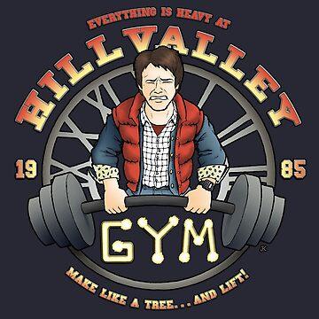 Hill Valley Gym by Kohrsfilms