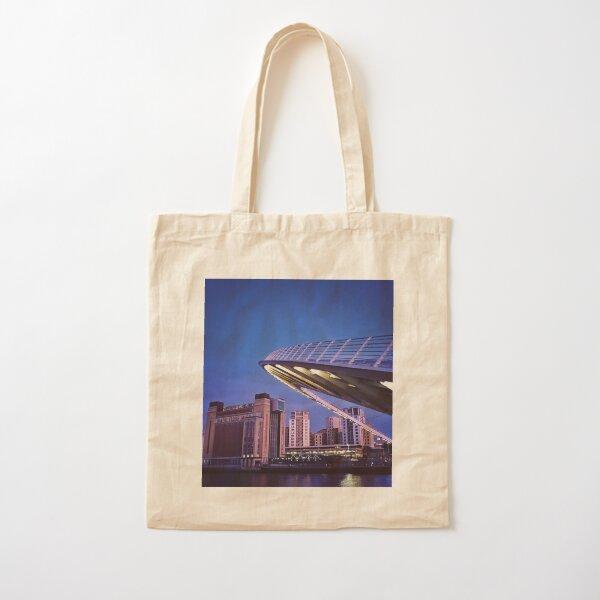 Baltic and Bridge, Newcastle Upon Tyne Cotton Tote Bag