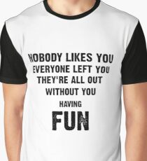 Green Day- Nobody Likes You Graphic T-Shirt