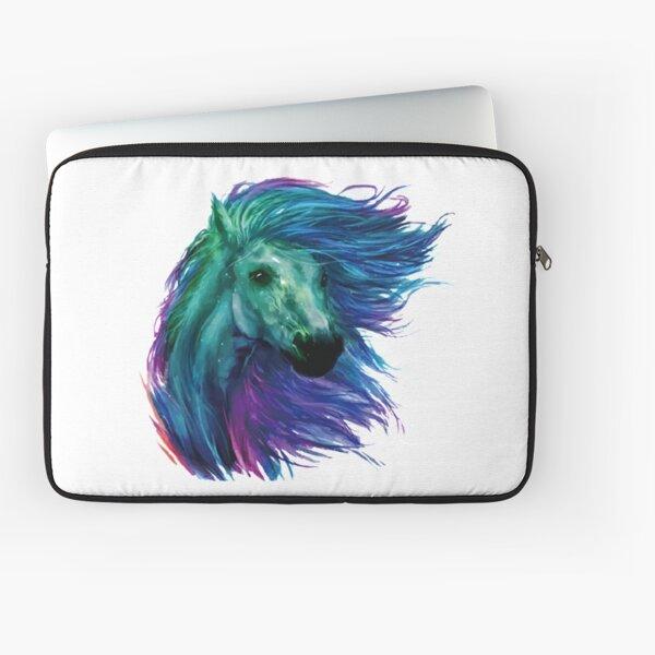Rainbow Horse Laptop Sleeve